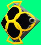 Platin-Schild