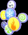 Sieben Elemente